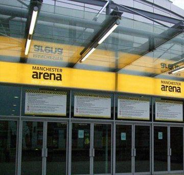 Manchester Arena LED lighting project